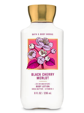 Black cherry merlot fragranza Super Smooth Body Lotion