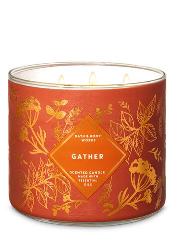 Gather fragranza Candela a 3 stoppini
