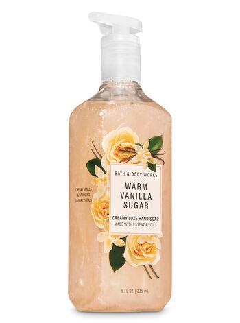 Warm vanilla sugar fragranza Sapone in crema