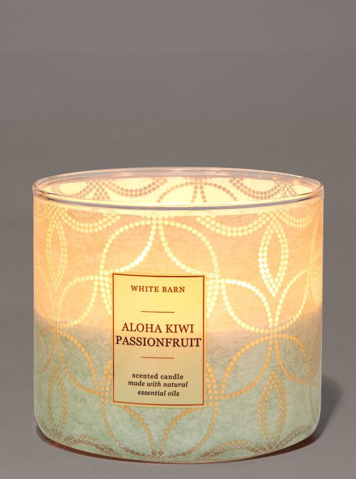 Aloha Kiwi Passionfruit fragranza Candela a 3 stoppini