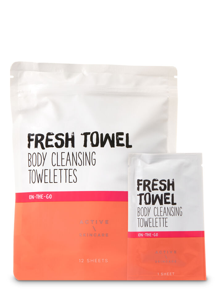 Active Beauty fragranza Body Cleansing Towelettes