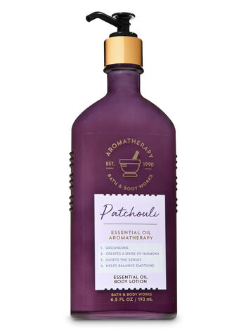 Patchouli fragranza Essential Oil Body Lotion