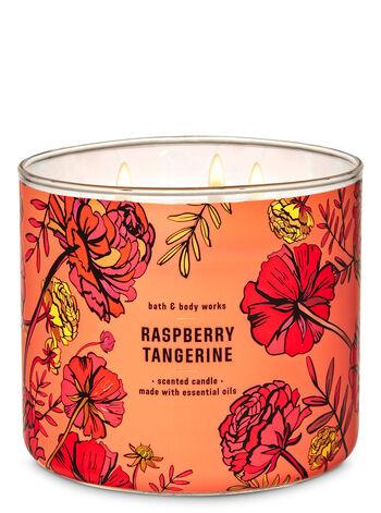 RASPBERYTANGERINE fragranza 3-Wick Candle