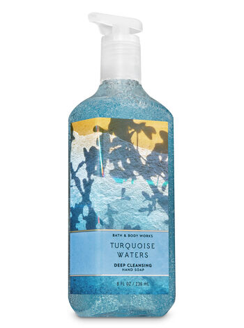 TURQUOISE WATERS fragranza Deep Cleansing Hand Soap