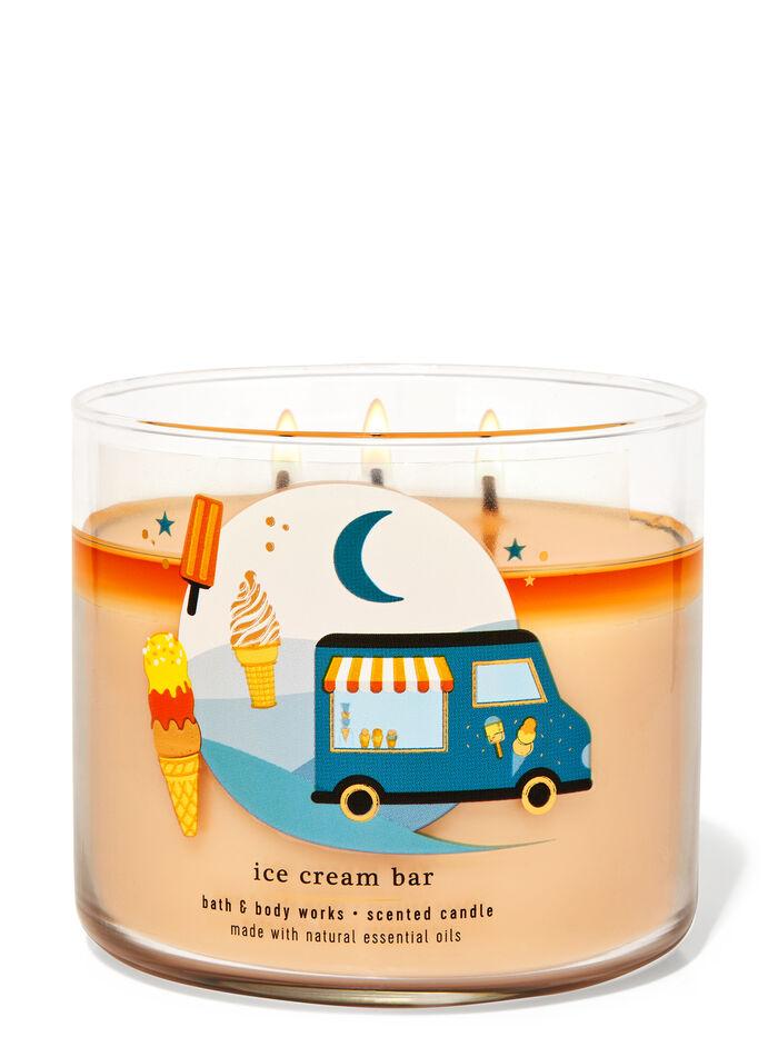 Ice Cream Bar fragranza Candela a 3 stoppini