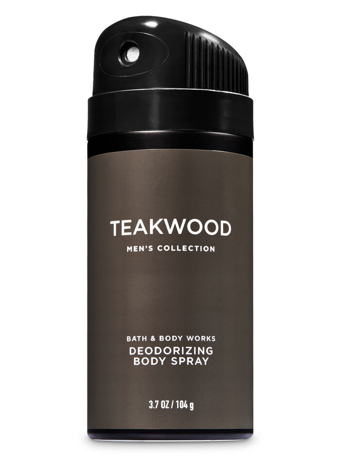 Teakwood fragranza Deodorizing Body Spray
