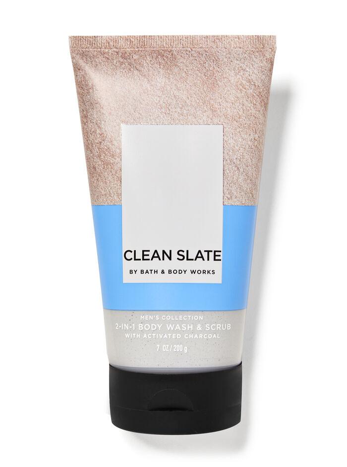 Clean Slate fragranza Doccia scrub 2 in 1