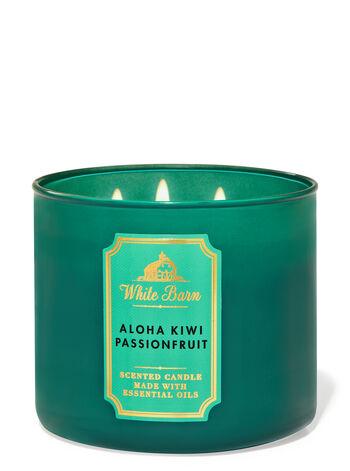 Aloha Kiwi Passionfuit fragranza Candela a 3 stoppini