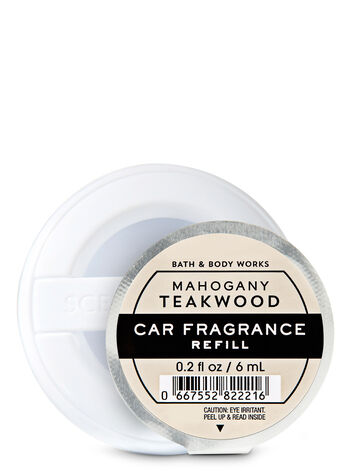 Mahogany Teakwood fragranza Ricarica profumatore auto