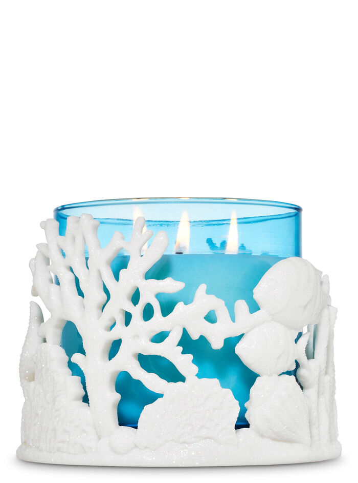 Coral Reef fragranza 3-Wick Candle Holder