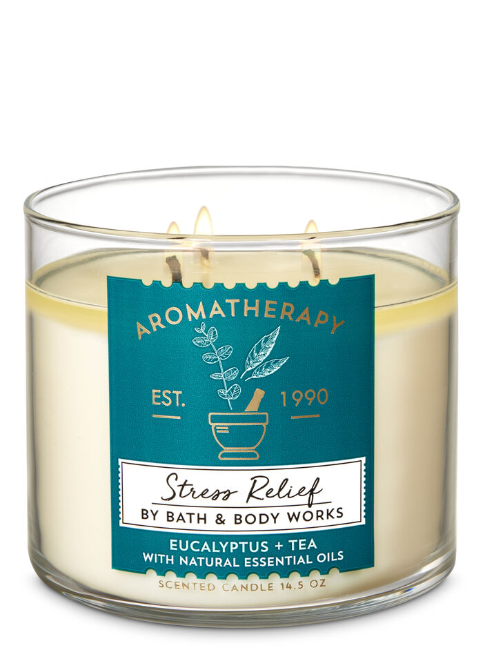 Eucalyptus tea fragranza 3-Wick Candle