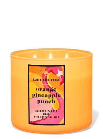 Orange Pineapple Punch fragranza Candela a 3 stoppini