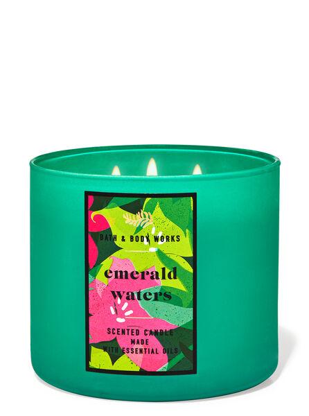 Emerald Waters fragranza Candela a 3 stoppini