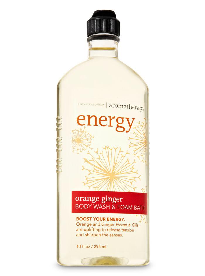 Orange Ginger fragranza Body Wash & Foam Bath