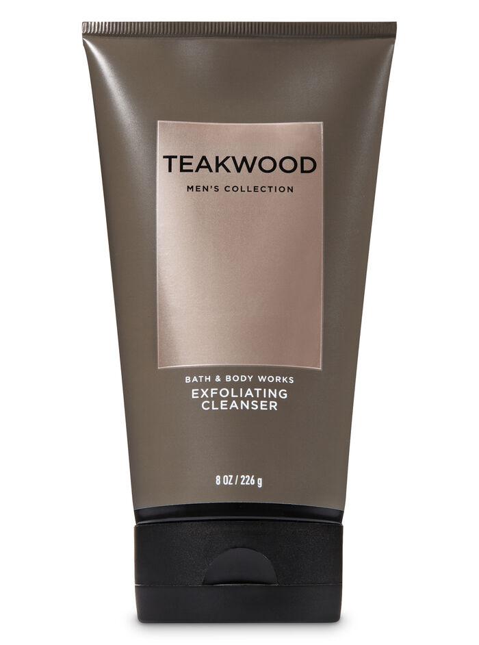 Teakwood fragranza Exfoliating Cleanser