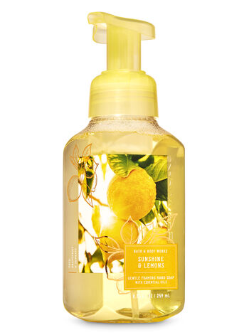 SUNSHINE AND LEMONS fragranza Sapone in schiuma