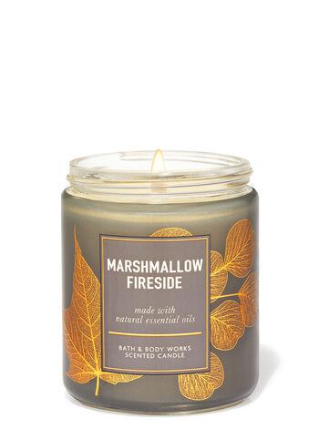 Marshmallow Fireside fragranza Candela a 1 stoppino