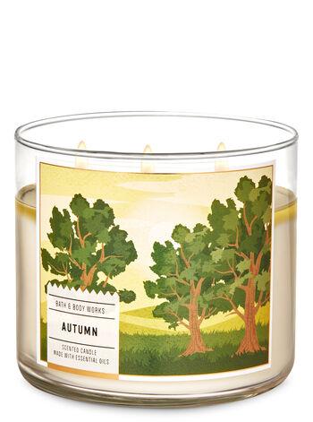 Autumn fragranza 3-Wick Candle