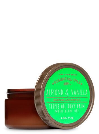 Almond & Vanilla fragranza Triple Oil Body Balm with Olive Oil