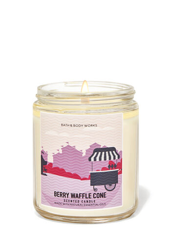 Berry Waffle Cone fragranza Candela a 1 stoppino