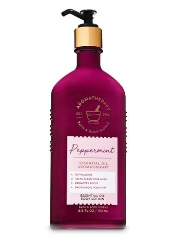 Peppermint fragranza Essential Oil Body Lotion