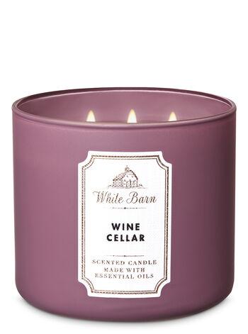 Wine Cellar fragranza 3-Wick Candle