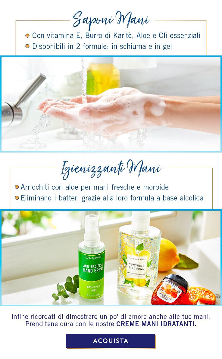 Saponi e Igienizzanti Mani